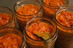 Zacusca is a vegetable spread or relish, very popular in the Balkans, eaten typically on bread.