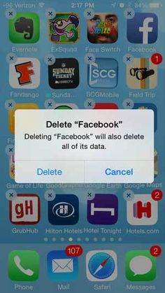 How to delete iOS apps on your iPhone or iPad
