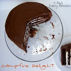 Amy's Cooking Adventures: Campfire Delight Cake