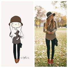 Adore.hardpin.com #catplusmouse #customportrait #fashionillustration #illustration #doodle #madewithpaper #fall