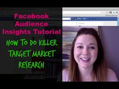 Facebook Audience Insights Tutorial: How to Do Killer Target Market Research - YouTube