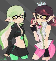 Squid Sisters Unhooked | Splatoon | Know Your Meme