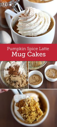 Transform this fall coffee-house favorite into a cake that can be baked right in your microwave in just two minutes flat.