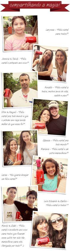 Coca-cola, compartilhe, magia, campanha, natal, 2013, latinhas, mensagens, valores,  publieditorial, publipost,