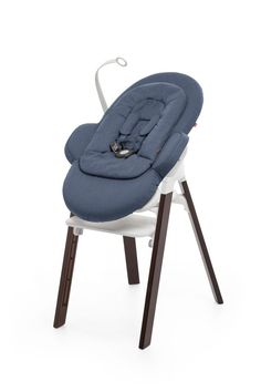 NEW! Innovative seating system from Scandinavian original Stokke –Bouncer + High Chair system called Stokke Steps