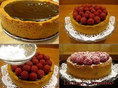 Tarta de chocolate y frabuesas