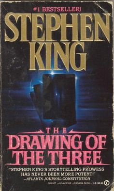 The second book of The Dark Tower series by Stephen King. Actually the first one I read Since the gunslinger is mainly backstory it didn't really hurt