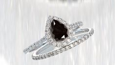 The Design of 10k White Gold Bridal Sets