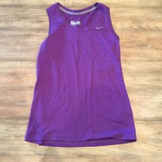 Purple Nike tank top Purple Nike tank top, dri-fit Nike Tops Tank Tops