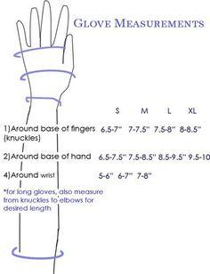 Glove Measurements