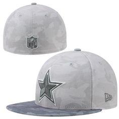 New Era Dallas Cowboys Camo 59FIFTY Fitted Hat - Graphite Camo