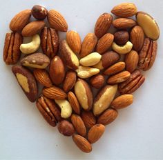 Facts and nutrition information about nuts. They're heart healthy and good for you! Good Healthy Snacks, Heart Healthy Recipes, Get Healthy, Gourmet Recipes, Healthy Eating, Healthy Heart, Tasty Snacks, Healthy Fats, Healthy Choices