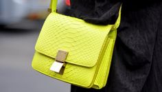 Bright Snakeskin Bags Are Both Mood Lifting And Seasonally Appropriate