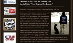 Houston Dog Trainers for off leash training. Justin Bailey, Texas Dog Training Expert. Off Leash K9 are dog training experts who train dogs to be themselves. http://www.houstontxdogtrainers.com/