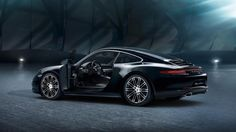 Release Porsche 911 and Boxster Black Edition Review Rear Side View Model