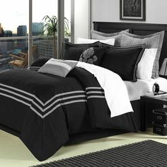 $144 Chic Home Cosmo 12 Piece Comforter Set | AllModern