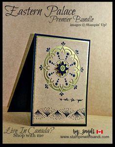 Masculine Cards Eastern Palace Premier Bundle by Sandi @ www.stampinwithsandi.com
