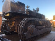 What a beast! #Caterpillar #Tractor #Company, #Oldtimer #Traktor