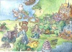 Legend of Mana background