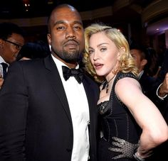 """Madonna compared herself to Kanye West in a new interview with the New York Daily News, saying the rapper is """"the black Madonna"""""""