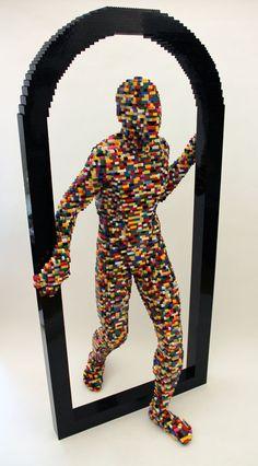 Art-Spire, Source d'inspiration artistique / 40 incroyables sculptures en LEGO