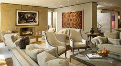 Lincoln Park Landmark Residence, Chicago - Living Room - Suzanne Lovell Inc.
