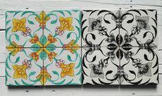 Maioliche dipinte a Mano COMED Ceramiche #maiolica #majolica #tiles #ceramics #art #handmade #madeitaly #restauro #repair #renovation #piastrelle