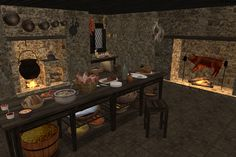 The Medieval Smithy SIMS 2: Fire