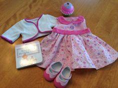 American Girl Bitty Baby Baby's Birthday Set Retired | eBay Ag Dolls, Girl Dolls, Twin Babies, Twins, Baby Doll Clothes, Bitty Baby, American Girls, Doll Stuff, Baby Birthday