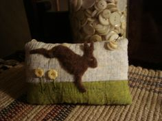 Old Quilt Rabbit Pinkeep   by kittiescatnip   or Pat Price       I love the things she makes