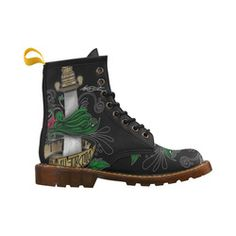 Symbolic Sword High Grade PU Leather Martin Boots For Men Model 402H