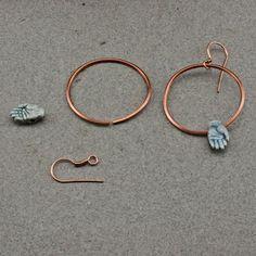 OscarCrow Handmade Jewelry: More simple earrings and fun stuff