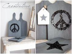 creativLIVE: DIY Pailletten-Brett