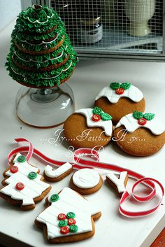 Sugar Pot's designer Christmas Cookie Collection packs