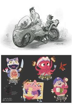 Concept Art for Big Hero 6 by Scott Watanabe