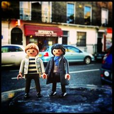 Playmobil Sherlock & Watson. Very impressive. Anna over and out!