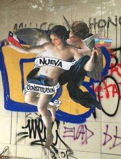 Social Art, Latin America, Street Art, Wrestling, Illustration, House, Red, Black People, Political Posters