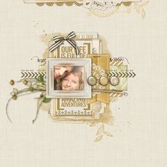 Amazing Adventures scrapbook layout by Kayleigh Wiles at DesignerDigitals.com #shopDesignerDigitals