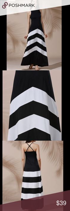 PreOrder & Save 10% 🌸Sexy chevron maxi dress Beautiful chevron A-line maxi dress. Please refer to sizing chart - this runs small. Cotton blend/ polyester. PREORDER & $ave 10%.  I am offering a preorder discount (10% off) if you're interested in grabbing this before it's gone. 👗👗👗 just leave a comment with the size you need and I will create a listing for you. 🤗🤗🤗 Dresses Maxi