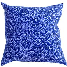 Moroccan Blue Cushion Cover from $15.90 assorted sizes