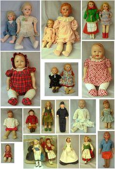 Souvenir dolls made in Finland by Martta nukketeollisuus Turku Finland Turku Finland, Vintage Dolls, Nostalgia, Sewing, Toys, How To Make, Crafts, Clothes, Collection