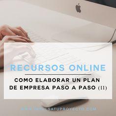 Recursos online a compilar antes de elaborar tu plan de empresa