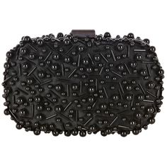 Coast Winona Textured Clutch Bag, Black ($44) ❤ liked on Polyvore featuring bags, handbags, clutches, purses, bolsas, borse, black clutches, beaded handbags, black beaded handbag and beaded purse