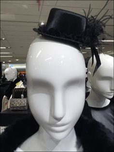 Something of a formal but fun party hat makes this New Year Cosplay display more arresting and memorable. H Style, Hat Making, Party Hats, Retail, Cosplay, Color, Black, Tops, Colour