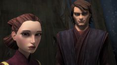 Anakin and Padme Amidala Star Wars, Anakin And Padme, Sci Fi Tv Shows, Star Wars Costumes, The Phantom Menace, Star Wars Baby, Star War 3, The Empire Strikes Back, Anakin Skywalker