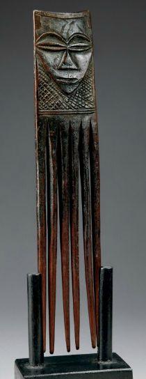 KUBA COMB Statues, Afro Comb, Congo, Afrique Art, African Artwork, Adinkra Symbols, Art Premier, Copper Art, Art Carved