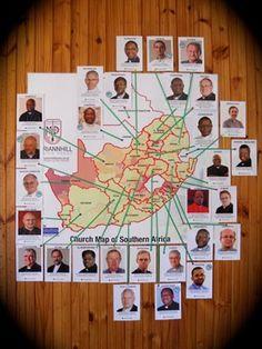Catholic Bishops' of Southern Africa! Catholic Bishops, Southern, African, Map, Prints, Location Map, Maps