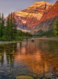 Mount Edith Cavell, Jasper National Park, Alberta