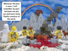 The Brick Testament... cool site for lego minded kids.