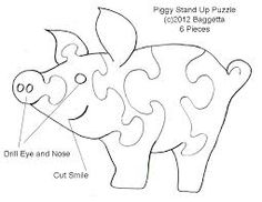 Afbeeldingsresultaat voor animal puzzles for the scroll saw